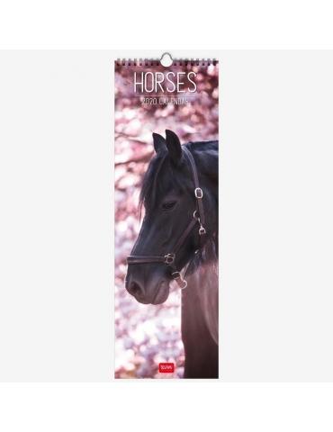 Calendario da Parete Legami 2020 16x49 - Horses