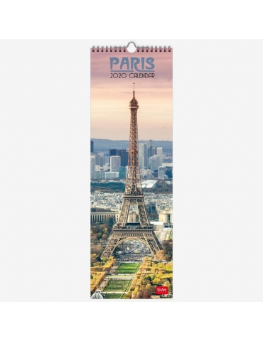 Calendario da Parete Legami 2020 16x49 - Paris