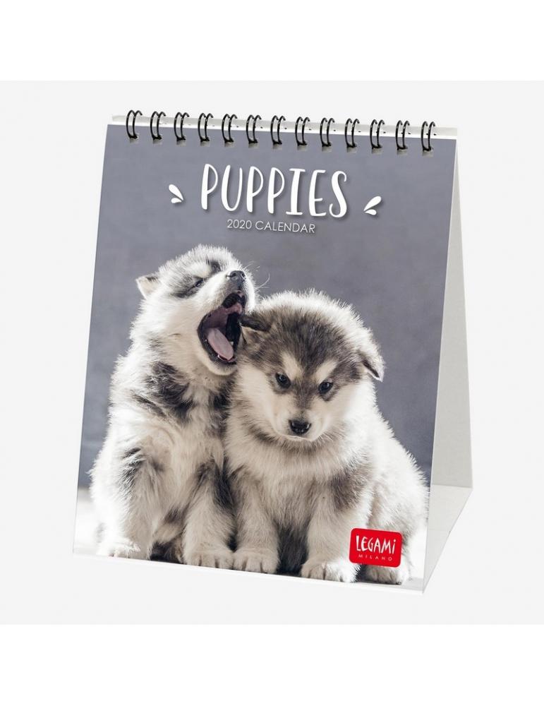 Calendario 2020 Da Tavolo.Calendario Da Tavolo Legami 2020 12x14 5 Puppies