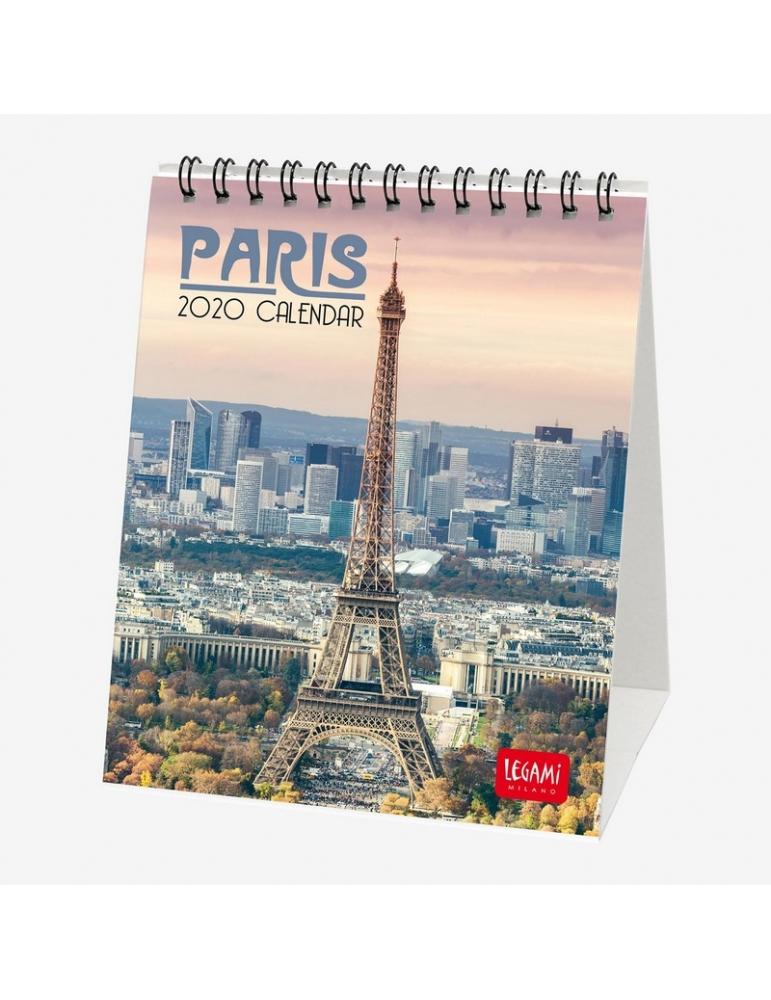 Calendario 2020 Da Tavolo.Calendario Da Tavolo Legami 2020 12x14 5 Paris