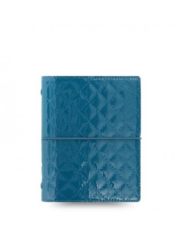 Organizer Filofax Domino Luxe Pocket 2020 Teal
