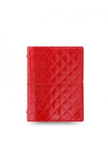 Organizer Filofax Domino Luxe Pocket 2020 Rosso