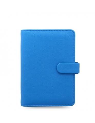 Organizer Filofax Saffiano Personal 2020 Fluoro Blu