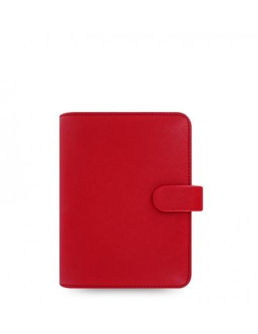 Organizer Filofax Saffiano Pocket 2020 Rosso