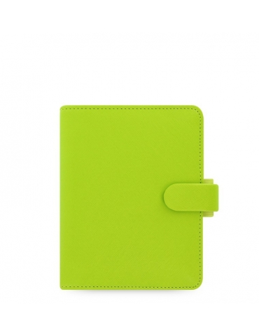 Organizer Filofax Saffiano Pocket 2020 Verde Pera