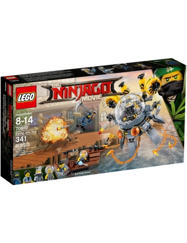 LEGO NINJAGO Sottomarino Flying Jelly