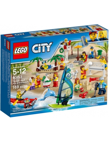 LEGO City People Pack - Divertimento in Spiaggia