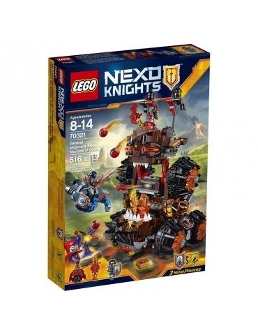 LEGO Nexo Knights La Macchina D'Assedio del Generale Magmar