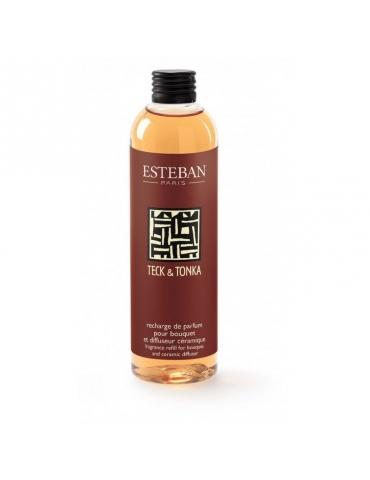 Ricarica Profumatore ESTEBAN Teck et Tonka 250 ml