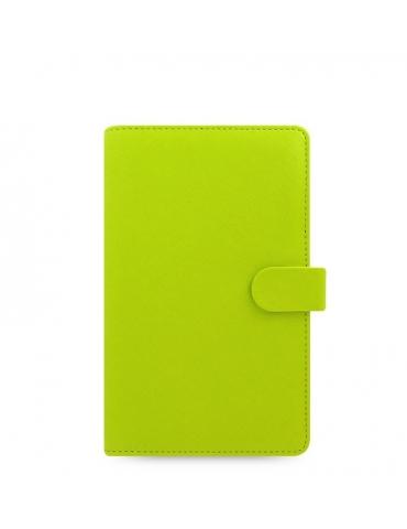 Organizer Filofax 2020 Saffiano Personal Compact Verde Pera