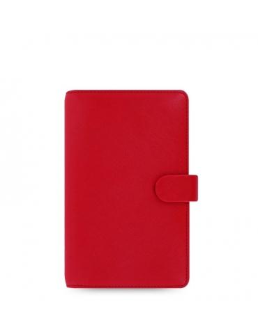Organizer Filofax 2020 Saffiano Personal Compact Rosso