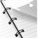 Portablocco Filofax Finsbury A4 Folio Zip Nero