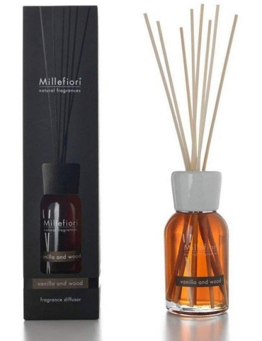 Profumatori Ambiente Vanilla & Wood MILLEFIORI 100 ml