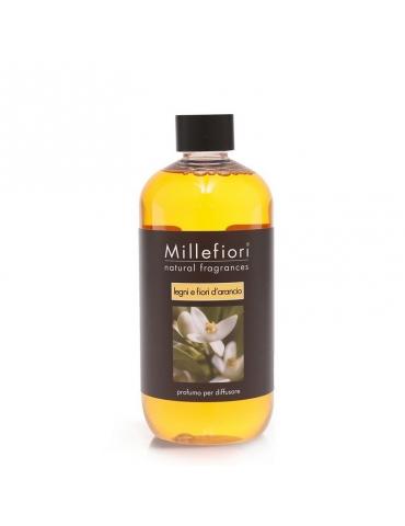 Ricarica Profumatore Legni e Fiori D'Arancio MILLEFIORI 250 ml