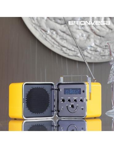 Radio Cubo Bluetooth BRIONVEGA Edizione Speciale Giallo Sole