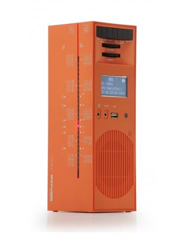 Radio Grattacielo Bluetooth BRIONVEGA Serie Speciale Arancio Sole