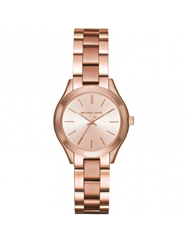 Orologio Michael Kors Donna Runway Mini Slim Rose Gold