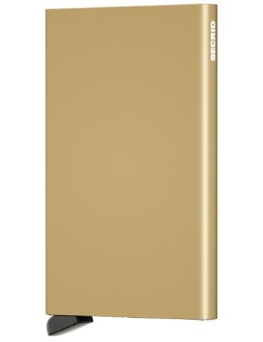 Portacarte Secrid Cardprotector Alluminio Oro