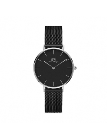 Orologio Donna Daniel Wellington Classic Petite Ashfield 32 mm Argento/Nero