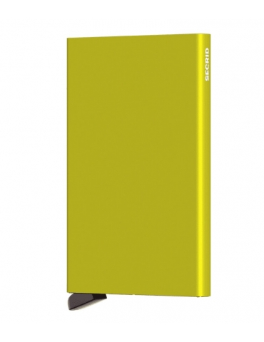 Portacarte Secrid Cardprotector Alluminio Verde