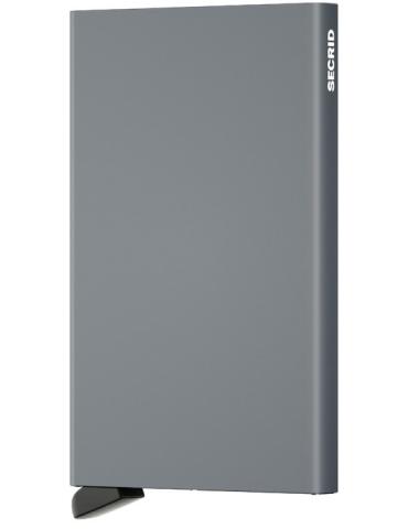Portacarte Secrid Cardprotector Alluminio Structured Titanium