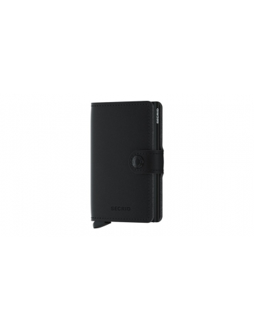 Portacarte Secrid Miniwallet Soft Touch Black