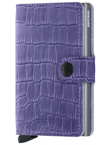 Portacarte Secrid Miniwallet Cleo Lavender