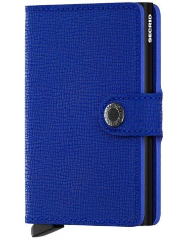 Portacarte Secrid Miniwallet Crisple Blue-Black
