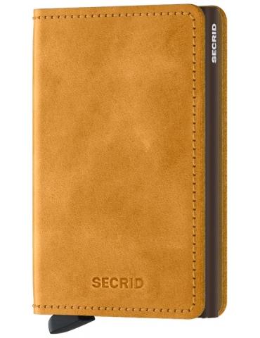 Portacarte Secrid Slimwallet Vintage Ochre