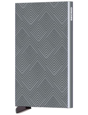 Portacarte Secrid Cardprotector Structure Titanium
