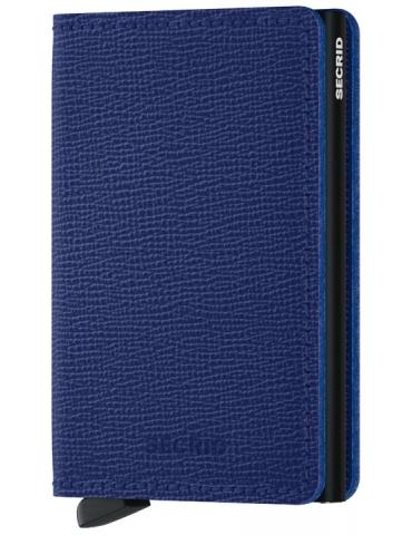 Portacarte Secrid Slimwallet Crisple Blue