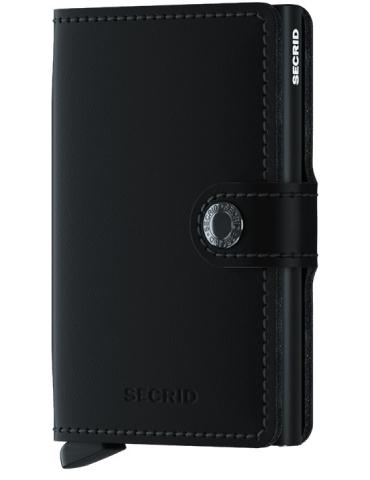 Portacarte Secrid Miniwallet Matte Black