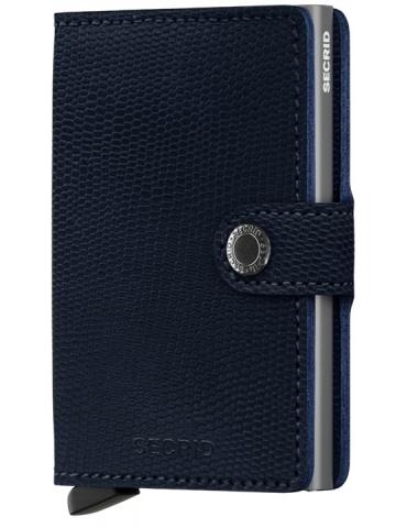 Portacarte Secrid Miniwallet Rango Blue-Titanium