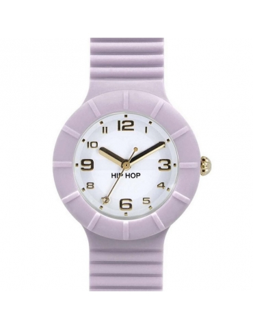 Orologio Hip Hop Donna Numbers Lilac Snow