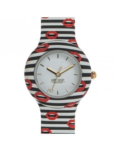 Orologio Hip Hop Donna Red Kiss 32MM