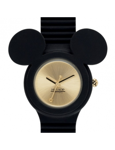 Orologio Hip Hop Donna Mickey Iconic Black