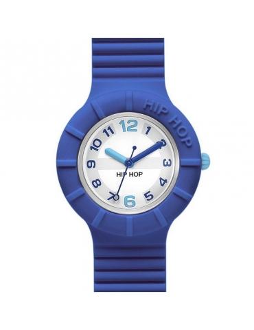 Orologio Hip Hop Unisex Numbers Blue & Azur