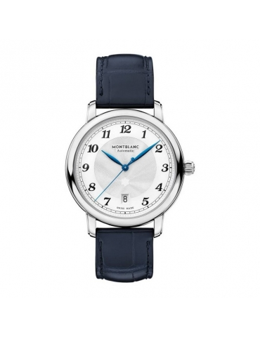 Orologio Montblanc Star Legacy Date Automatic Blu