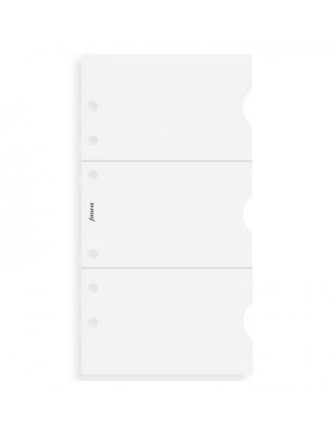 Ricambio Agenda Filofax Personal Porta Carte di Credito