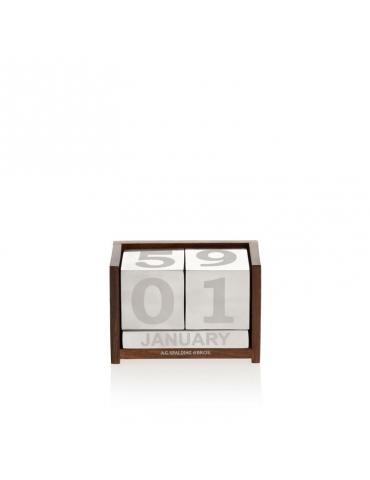 Calendario Spalding & Bros Legno/Alluminio