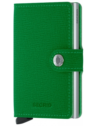 Portacarte Secrid Miniwallet Cisple Light Green