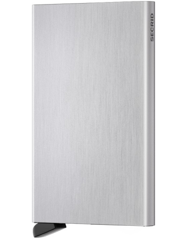 Portacarte Secrid Cardprotector Alluminio Brushed Silver