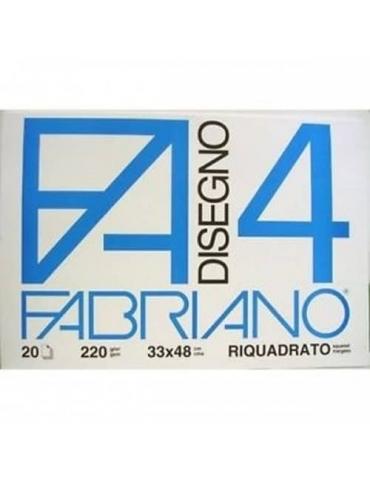 Blocco Fabriano F4 797 Liscio Riquadrati 33x48 219 - Mega 1941