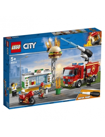 LEGO City Fiamme al Burger Bar