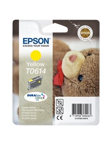 Cartuccia Stampante Epson T0614 Giallo