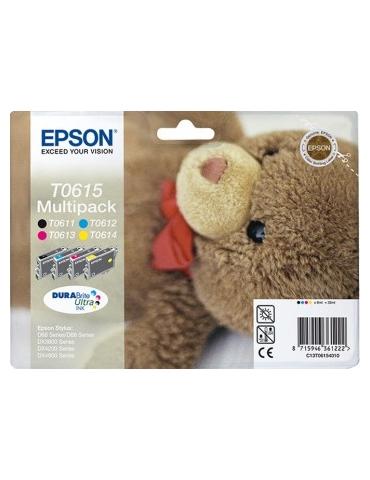 Cartuccia Stampante Epson T0615 Multipack 4 colori