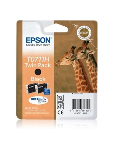 Cartuccia Stampante Epson T0711H-Doppio Nero