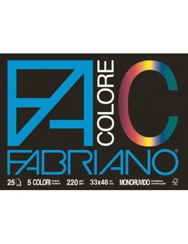 Album da Disegno Colorato F4 Ruvido 33x48 cm