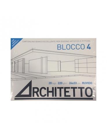 Album da Disegno Architetto F4 Ruvido 24x33 cm