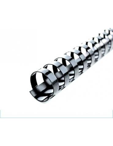 Spirali plastiche per rilegare 25MM scatola 100 pz